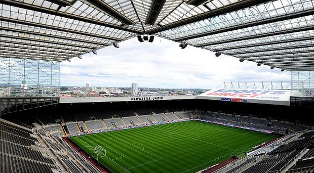 Newcastle United could sue two streakers who ran on to the pitch during Europa League matches at the club's ground