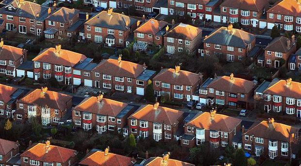 A report called for an extra 300,000 homes to be built every year
