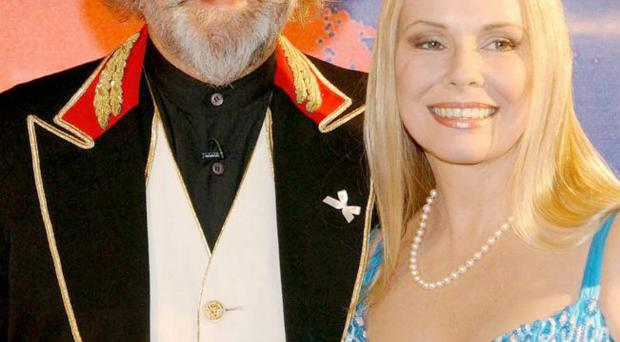 Easygoing guy: Billy and wife Pamela