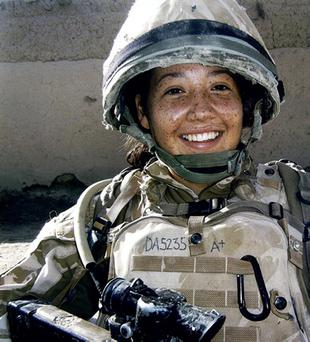 Channing Day. Soldier from Comber killed in Afghanistan.