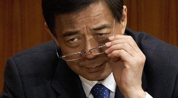Bo Xilai has been expelled from the National People's Congress (AP/Ng Han Guan)