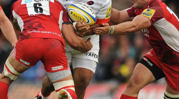 Mako Vunipola, centre, has been called up to the England squad