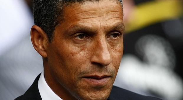 Chris Hughton will just be focusing on the football on Saturday