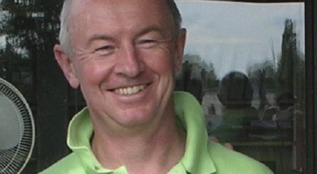 ExxonMobil executive Nicholas Mockford was shot to death in front of his wife in a suburb of the Belgian capital of Brussels (AP)