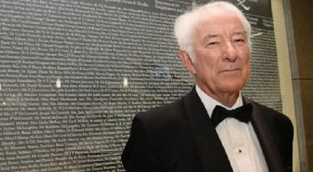 Seamus Heaney's work will feature during Londonderry's year as UK City of Culture in 2013