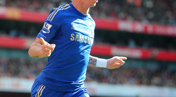Fernando Torres, pictured, has been defended by Roberto Di Matteo