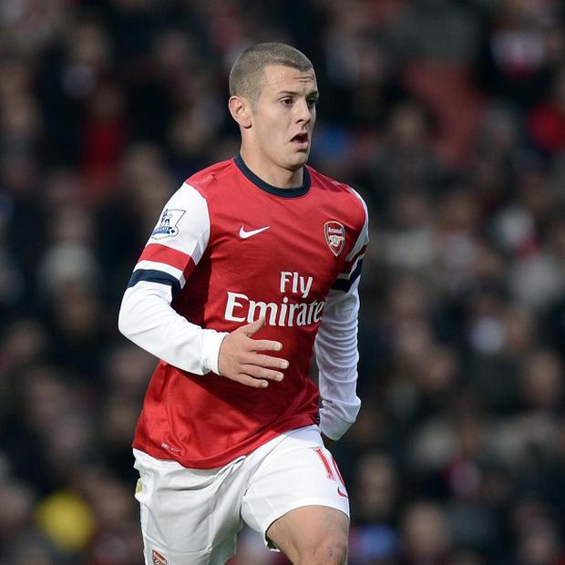 Jack Wilshere returned to Premier League action on Saturday