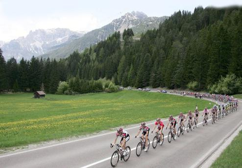 The Giro d'Italia could come to Ireland if a bid is successful