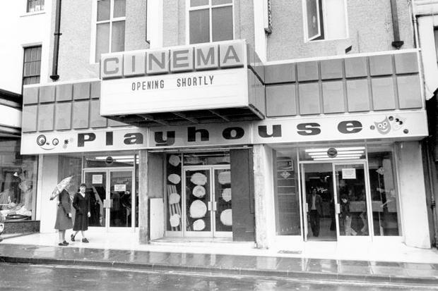 The Playhouse, pictured in 1977 after refurbishment, has entertained for more than 80 years