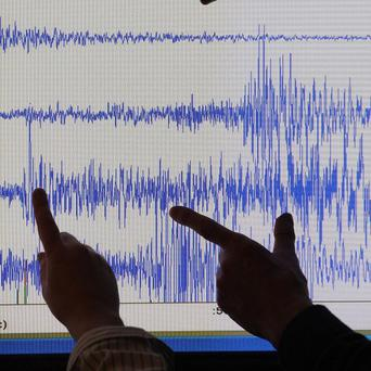 Buildings in central Los Angeles were left shaking by a minor earthquake