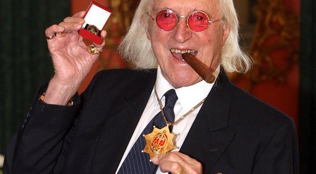 Officers are currently investigating claims against Jimmy Savile