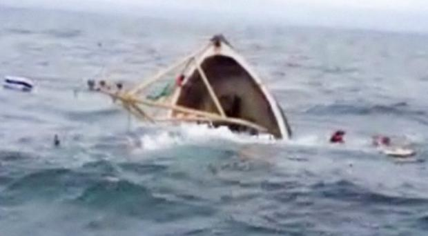 Ardglass-registered boat the Snowdonia sinks of the Ulster coast