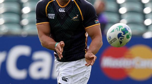 Bryan Habana will miss South Africa's tour of Great Britain and Ireland