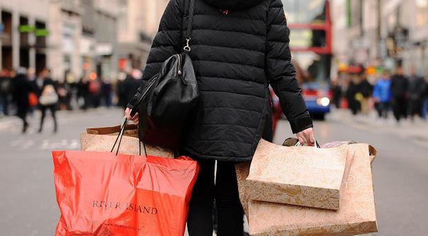 Some 47 per cent of retailers saw sales rise on a year earlier, the CBI said