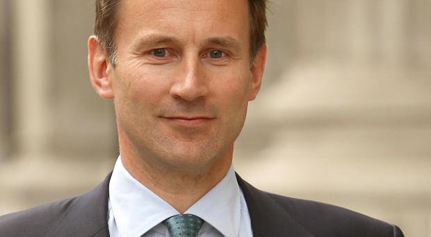 Health Secretary Jeremy Hunt said new legislation was needed to bring absolute legal clarity to the situation