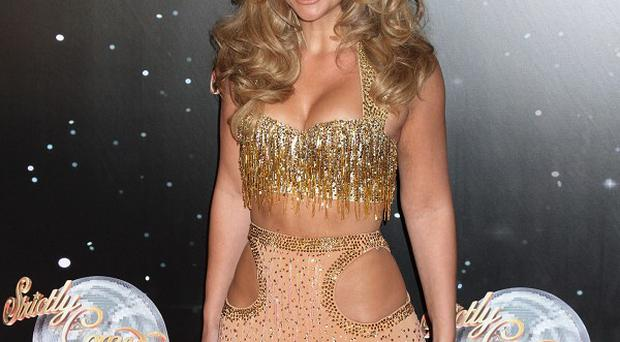 Kimberley Walsh thinks her bottom is more pert thanks to Strictly