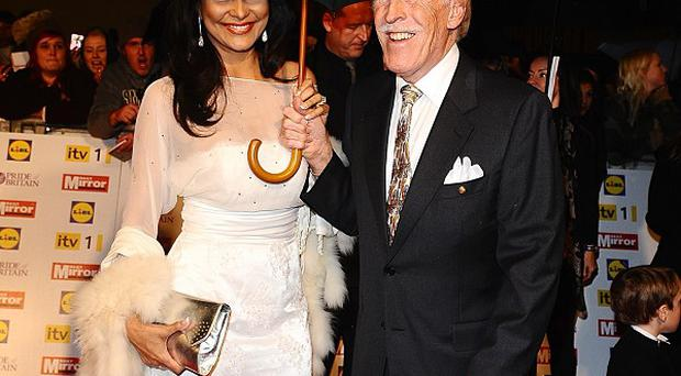 Bruce Forsyth attended the Pride of Britain awards with wife Wilnelia Merced