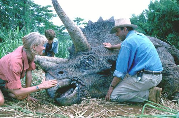 Back for good? 'Jurassic Park' popularised the idea of de-extinction, which could potentially be used on other species, including mammoths