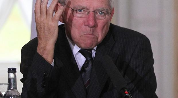 German finance minister Wolfgang Schauble ruled out any need for another rescue package for Ireland