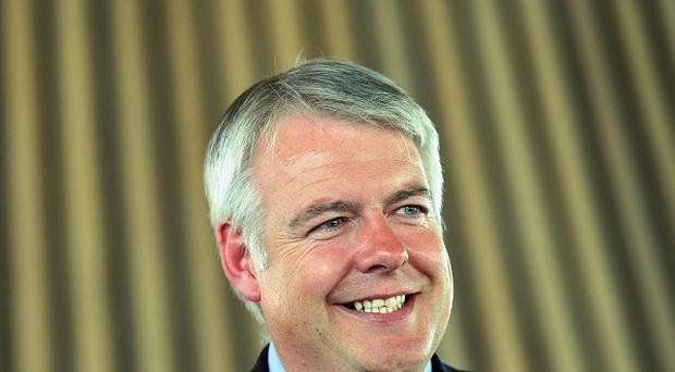 Welsh first minister Carwyn Jones, pictured, discussed the importance of trade within the EU with the Irish Ambassador to the UK