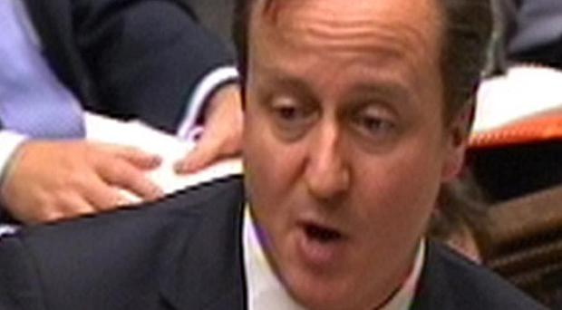 David Cameron said he would settle for limiting the EU budget increase to inflation