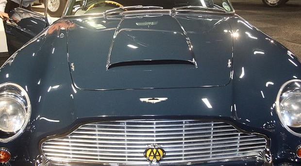 The 1964 Aston Martin DB5 previously owned by Sir Paul McCartney