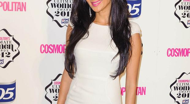 Nicole Scherzinger arrives at the Cosmopolitan Ultimate Women of the Year Awards