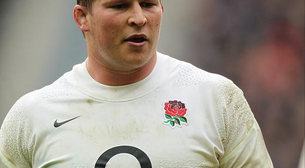 England hooker Dylan Hartley is struggling with a knee injury