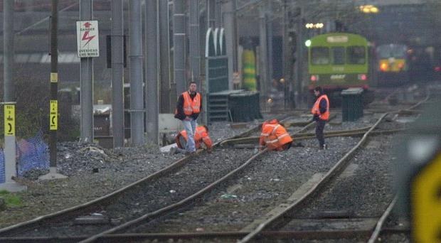 Engineering work is due to take place on on a key London to Scotland rail route over Christmas