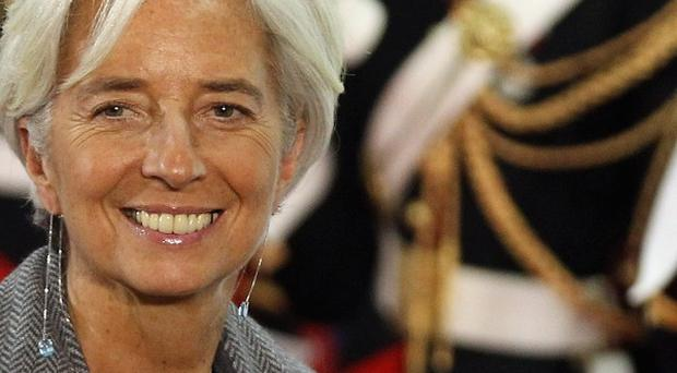 IMF chief Christine Lagarde, who as French finance minister, gave a list of alleged tax evaders to Greek authorities