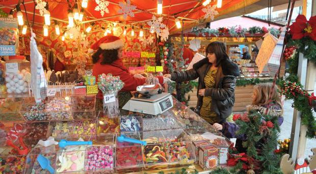 Belfast's Christmas Continental Market is back despite the impact of last year's flag protests