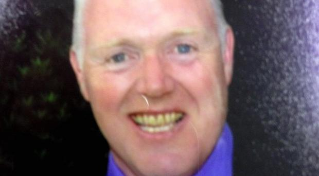 David Black was gunned down as he drove to work at the high security Maghaberry prison in Co Antrim (PSNI/PA)