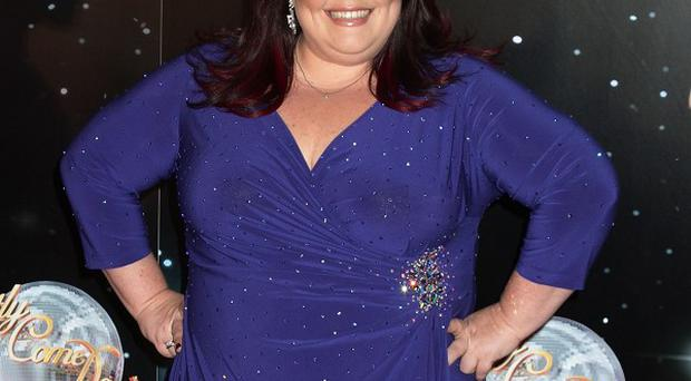 Lisa Riley will dance to Let's Stick Together this weekend