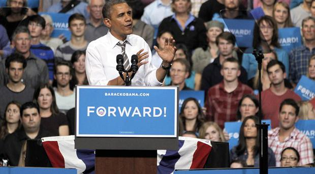 President Barack Obama has been boosted by better-than-expected news on jobs (AP)