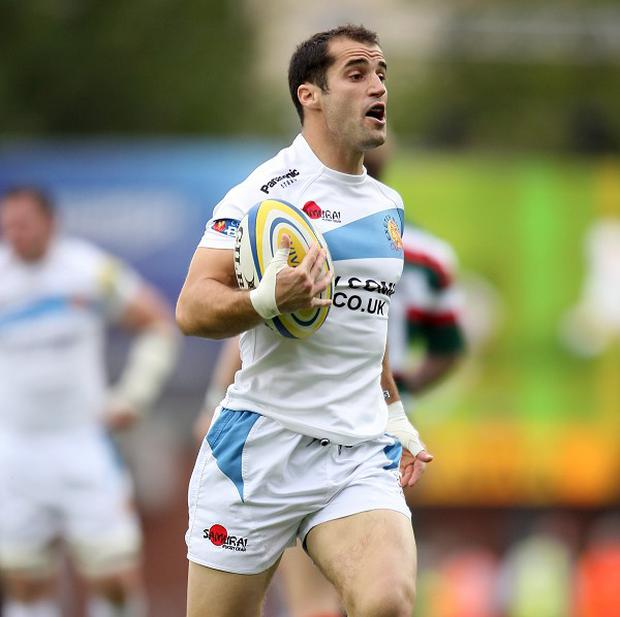 Haydn Thomas scored a late try as Exeter enjoyed a convincing win at home against Worcester