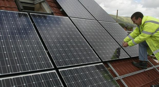A new Government incentive scheme is promoting renewable heating such as solar panels