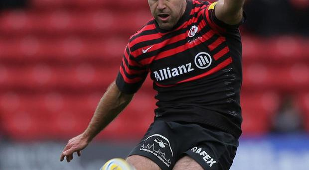 Charlie Hodgson had an impressive afternoon with the boot for Saracens