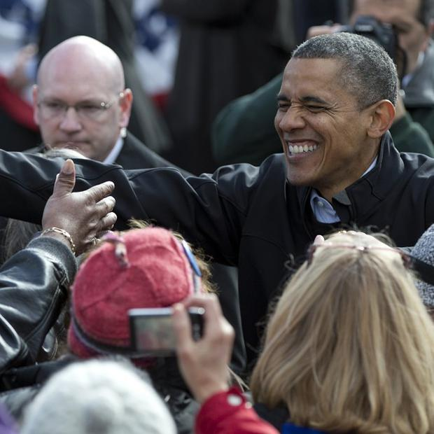 President Barack Obama looks certain of victory, according to a bookmaker (AP Photo/Carolyn Kaster)