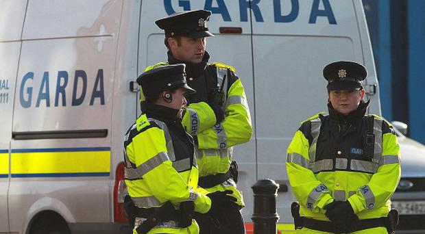 Gardai have arrested nine people following a series of raids during which cash and drugs were seized