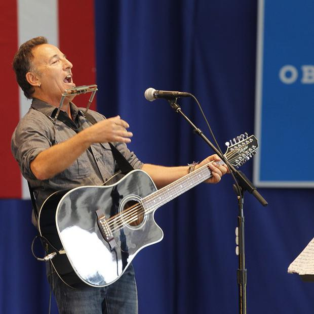 Bruce Springsteen has helped rally support for President Barack Obama throughout his campaign trail