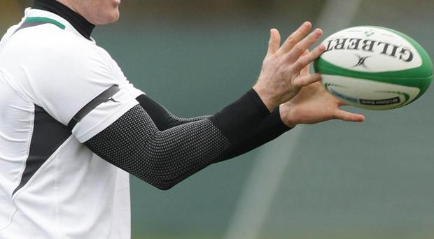 Paul O'Connell trained with the Ireland squad on Tuesday