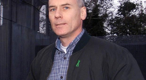 Padraic Wilson denies charges of IRA membership and two counts of addressing a meeting to encourage support for the outlawed grouping