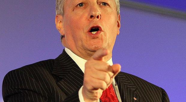 First Minister Peter Robinson hailed the new jobs and employment initiative