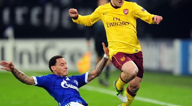 Jack Wilshere, right, hopes to be back fit for Arsenal after his one-match ban