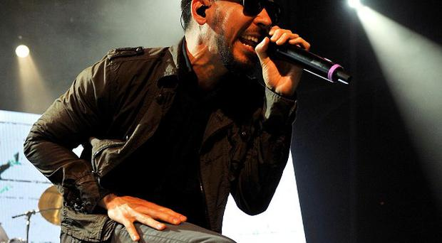 The injury occurred outside a Linkin Park concert