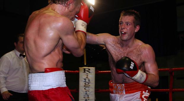 Stephen Haughian is returning to the ring