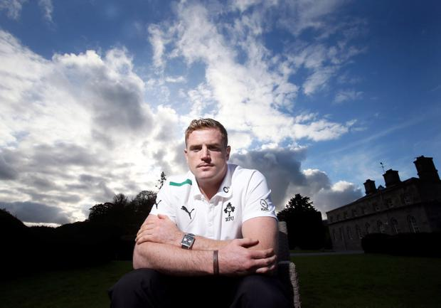 Jamie Heaslip could be the man to lead the next generation of Ireland players