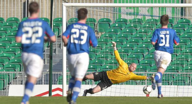 Alan Blayney is delighted that his return to keeping clean sheets has helped Linfield to get back to winning ways