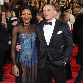 Naomie Harris stars with Daniel Craig in James Bond film Skyfall