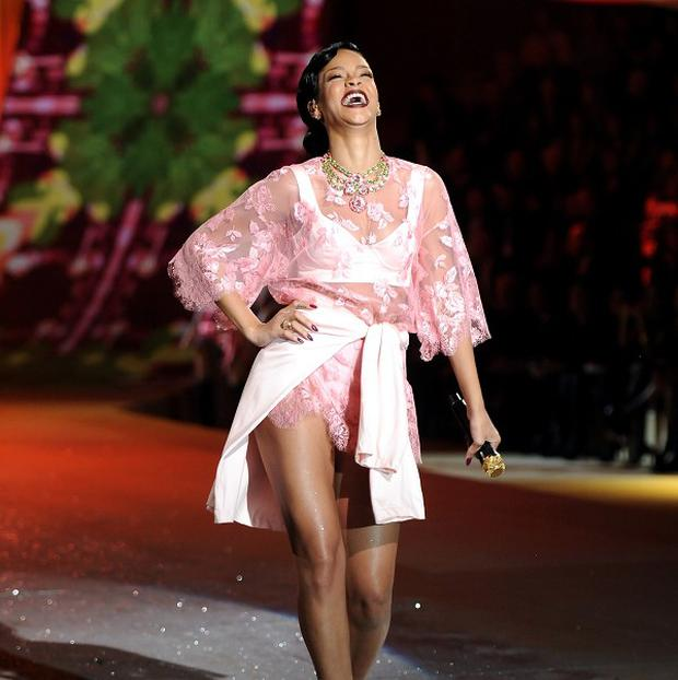 Rihanna strutted her stuff at the 2012 Victoria's Secret Fashion Show in New York
